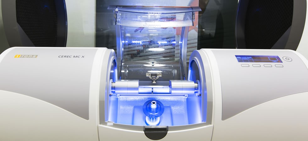 In-house CEREC machine