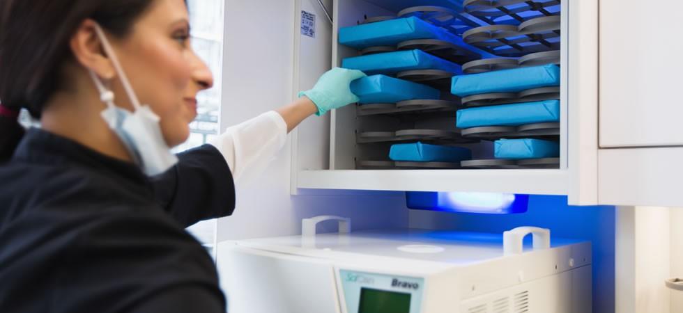 Modern sterilization equipment
